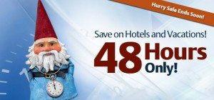 Travelocity 48hr Sale