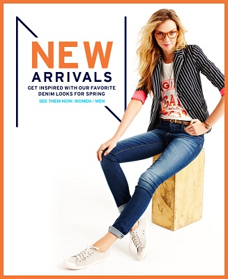 gap new arrivals promo