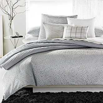 Calvin Klein bedding available at Bloomindales