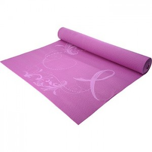 Gaiam Pink Ribbon Breast Cancer Mat