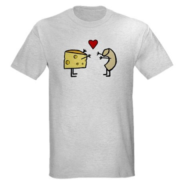 macaroni_and_cheese_light_tshirt
