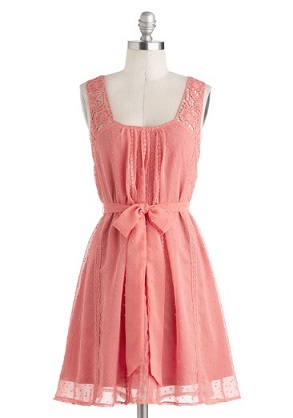 pleasantly surprised dress modcloth