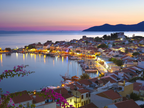stuart-black-harbour-at-dusk-pythagorion-samos-aegean-islands-greece