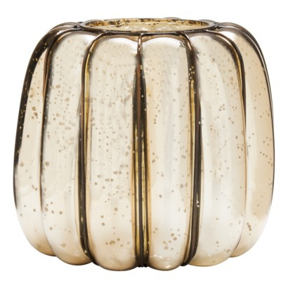Smith & Hawken Glass Pumpkin