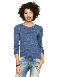 gap sweater blue