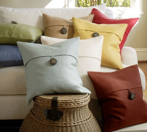 pottery barn pillow covers Textured Linen Pillow Covers from Pottery Barn | Best Home Shopping pottery barn pillow covers